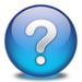 Question Mark Icon BlueGlow2